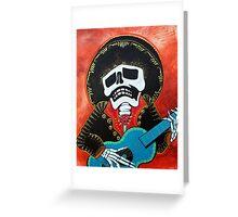 Mariachi Musician Greeting Card