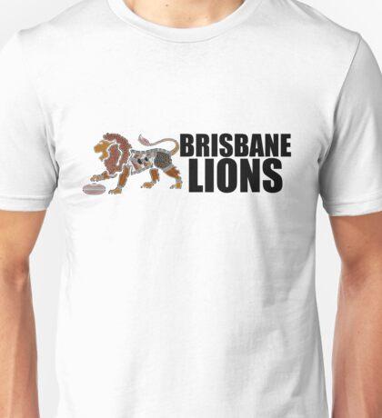 Indigenous Lion - Brisbane Black  Unisex T-Shirt