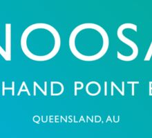 Noosa Surfing Sticker