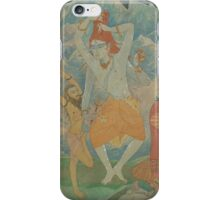 The Master of Yogis Catches the Ganga in his Hair iPhone Case/Skin