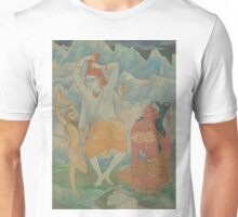 The Master of Yogis Catches the Ganga in his Hair Unisex T-Shirt