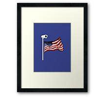 One Nation under... Surveilance! Framed Print