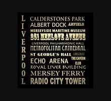 Liverpool Famous Landmarks Unisex T-Shirt