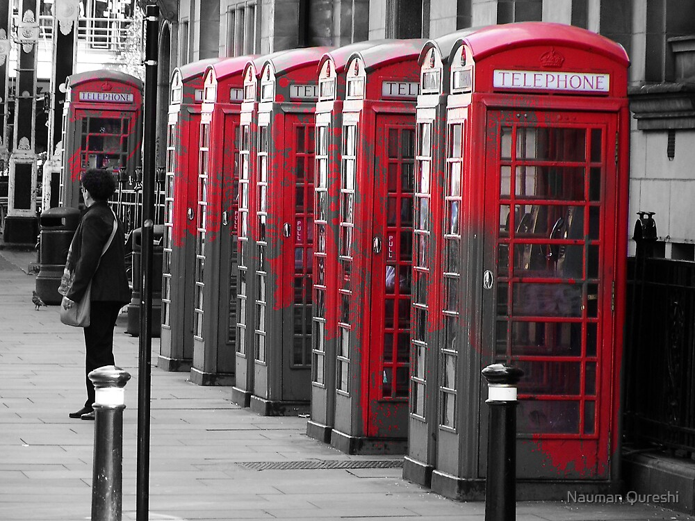 The Phonebooths by Nauman Qureshi