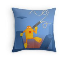 Love and Destruction Throw Pillow