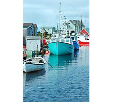 Boating Village Photographic Print