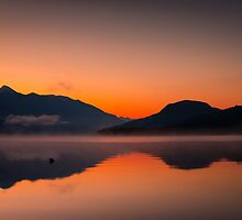 Misty fog sunrise  by RevelstokeImage