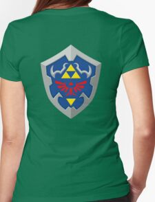 Hylain Shield OoT Womens Fitted T-Shirt