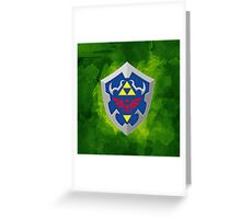 Hylain Shield OoT Greeting Card