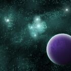 Space Scene the First by DivaMom