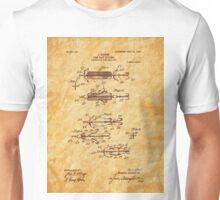 Heddon 1907 Fishing Lure Patent Art Unisex T-Shirt