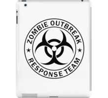 Zombie Response Team iPad Case/Skin