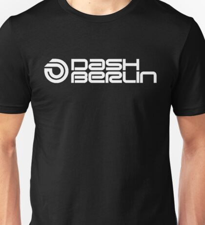 Dash Berlin white Unisex T-Shirt