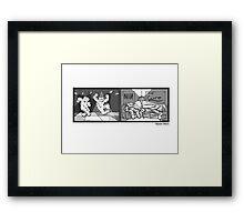 Bipolar Bears Framed Print