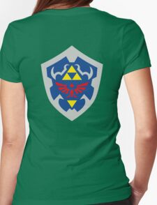 Hylain Shield OoT 2 Womens Fitted T-Shirt