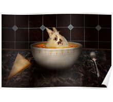 Animal - Bunny - There's a hare in my soup Poster