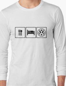 Eat Sleep VW Long Sleeve T-Shirt