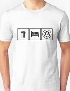 Eat Sleep VW Unisex T-Shirt