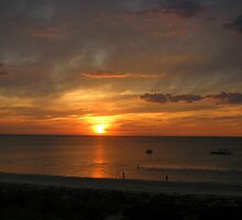 Carrum at sunset by Michelle Spencer