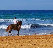 Beach Ride by Xandru