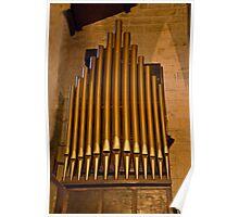 Garrison's Church Organ Poster