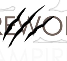 Ghosts, Werewolves & Vampires Sticker