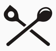 Crossed cooking spoons One Piece - Short Sleeve