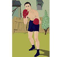 Thistle Street Boxer Photographic Print