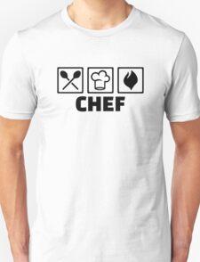 Chef cook hat equipment Unisex T-Shirt