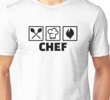 Chef cook hat equipment Unisex T-Shirt