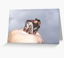 Shoot for the sky Greeting Card