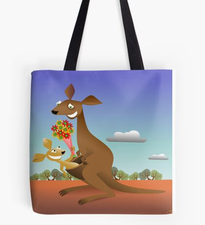 Mothers Day for Kangaroos Tote Bag