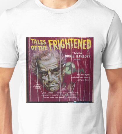 Boris Karloff, Tales Of The Frightened Unisex T-Shirt