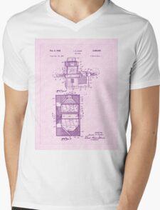 1968 Easy Bake Toy Oven Patent Art Mens V-Neck T-Shirt