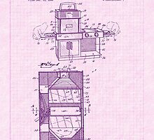 1968 Easy Bake Toy Oven Patent Art by Barry  Jones
