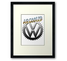 VW GEAR Aircooled 0002 Framed Print