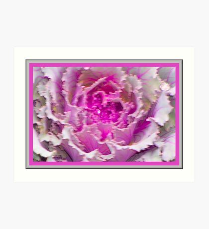 Pretty Pink Soft and Wet Art Print
