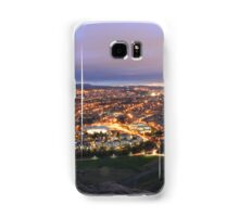 Lights of Edinburgh from Arthurs' Seat Samsung Galaxy Case/Skin