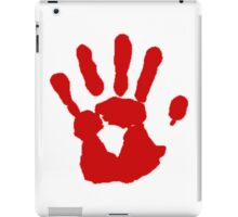 COD Bloody Hand iPad Case/Skin