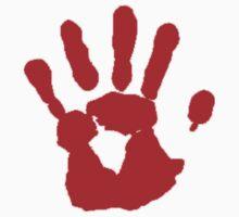 COD Bloody Hand by Tony  Bazidlo