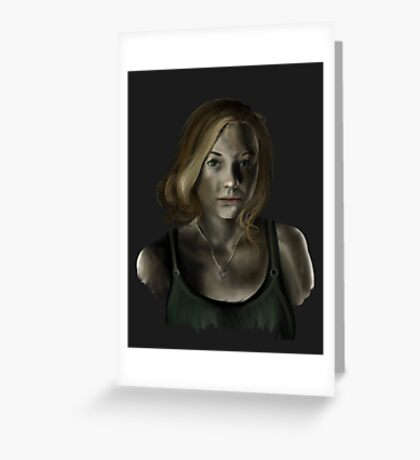 Beth - The Walking Dead Greeting Card