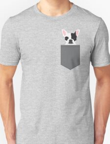 Parker - French Bulldog animal art modern colors for dog people Unisex T-Shirt