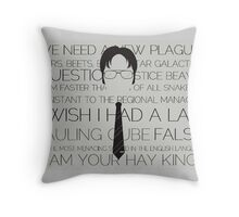 Dwight Schrute quotes Throw Pillow