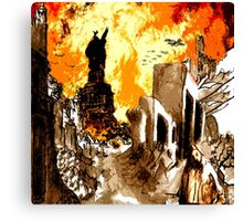 The TEA PARTY CONQUEST of AMERICA Canvas Print