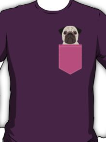 Taylor - Pug dog art phone case for pet lovers and dog people T-Shirt