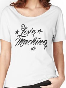 LOVE MACHINE Women's Relaxed Fit T-Shirt