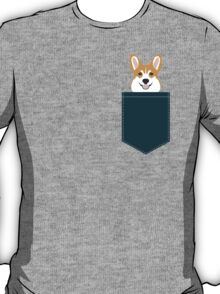 Teagan - Corgi Welsh Corgi gift phone case design for pet lovers and dog people T-Shirt