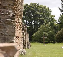 Balmerino Abbey by Pete Johnston