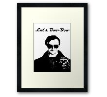 Let's Boo-Boo Framed Print