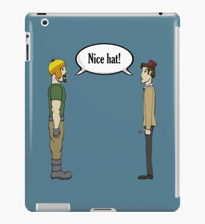 Nice Hat iPad Case/Skin